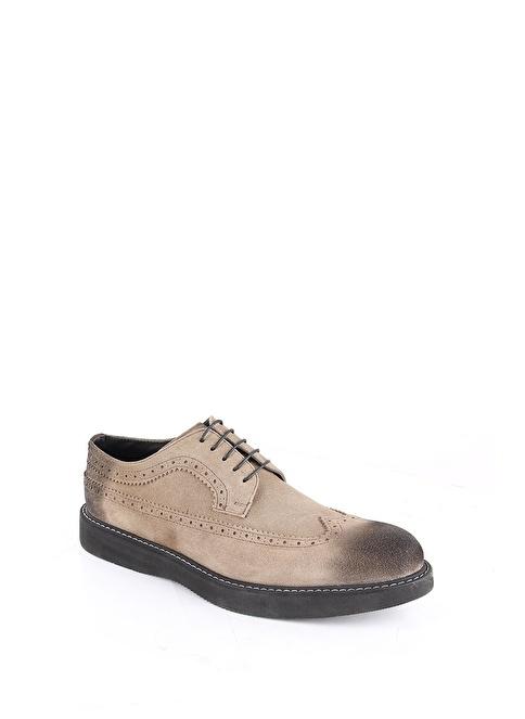 Enrico Lorenzi Hakiki Deri Ayakkabı Vizon
